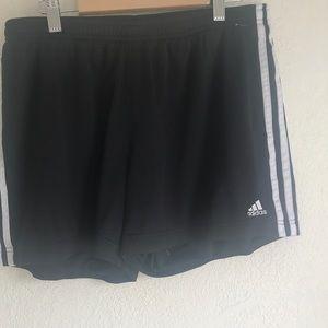 Adidas shorts classic black and white large